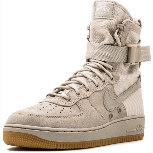Men's Nike SF Air Force 1 High Tan • Size 12